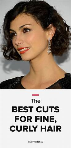 ask a hairstylist the best cuts for fine curly hair and