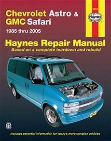 old car owners manuals 2005 chevrolet venture free book repair manuals haynes repair manual for chevy astro and gmc safari 1985 thru 2005