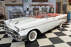 1957 chevrolet bel air convertible vollrestauration