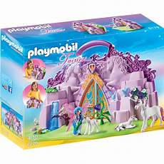 Playmobil Malvorlagen Unicorn Playmobil Fairies Take Along Unicorn Garden 6179 New