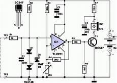 Components Voltage Tester Circuit Schematic The Circuit