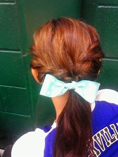 hair for a volleyball game i think i will try this my