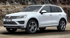 vw prices facelifted touareg from 52 125 in germany