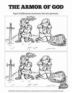 ephesians 6 the armor of god kids spot the difference can your kids spot the difference between