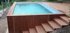que choisir piscine hors sol piscine hors sol en bois choisir sa piscine bois hors sol ozeobois