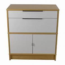 Kitchen Storage Furniture Ikea 54 Gray Wicker Basket Bin Storage