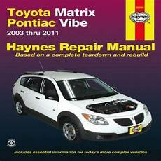 manual repair free 2012 toyota matrix user handbook haynes repair manual toyota matrix and pontiac vibe 2003 thru 2011 2012 paperback for sale