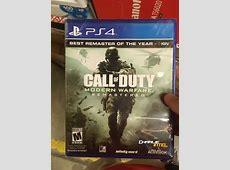 is modern warfare 2 remastered