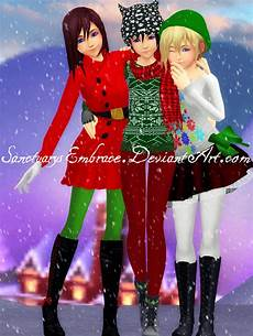 mmd gift dl knx merry christmas 2015 by maricorsair