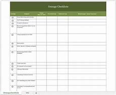 Umzugscheckliste Mit Excel Und Als Pdf