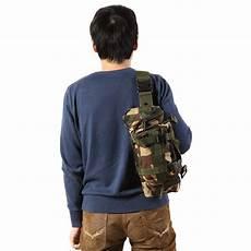 tas selempang pria army sling bag 6l bl015 black jakartanotebook com