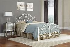 White Metal Bed Frame Bedroom Ideas by Bedroom Metal Headboard With Decorative Castings