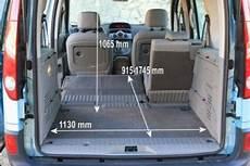 renault kangoo kofferraum adac auto test renault kangoo dci 85 expression