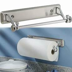 Kitchen Towel Holder by New York Kitchen Wall Mount Paper Towel Holder Stainless