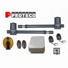 Motorisation Portail Battant Proteco Leader Kit