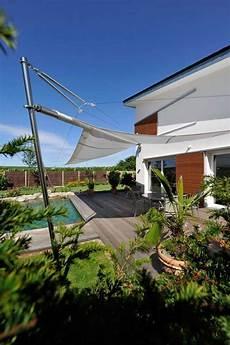 Dach Terrasse Windschutz Segel - sonnensegel architektenstudio melzer garten in 2019
