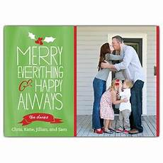 merry everything christmas photo cards paperstyle