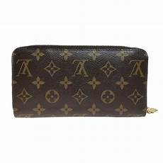 louis vuitton monogram zippy m60017 long bi fold wallet
