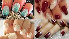 simple and brilliant christmas nail art ideas festive and