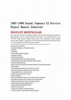 automotive air conditioning repair 1988 suzuki sj transmission control 1987 1988 suzuki samurai sj service repair manual download by hhfgshefn issuu