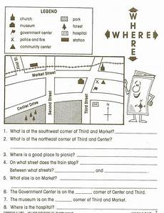 mapping skills worksheets for grade 3 11591 pin on things i like