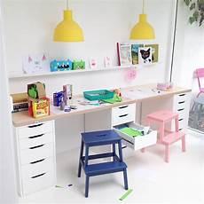Ikea Schreibtisch Kinderzimmer - ikea desk hack room kinder schreibtisch