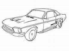 Racing Car Ford Mustang Coloring Page  Fun