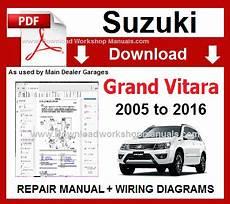 electric and cars manual 2005 suzuki swift lane departure warning suzuki grand vitara workshop repair manual and wiring diagrams 2005 to 2016 pdf engines 1 6 l