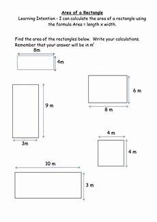 area worksheets rectangles and composite shape by mrshutchison teaching resources tes
