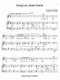 swing low sweet chariot lyrics swing low sweet chariot sheet direct