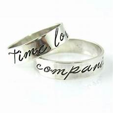 these will be our wedding rings o doctor who wedding bands time lord companion by
