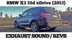 2013 bmw x3 35d exhaust sound revs diesel power 333