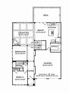 builder house plans com easy flowing floor plan hwbdo74160 cottage house plan