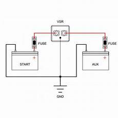 prime split charge wiring diagram voltage sensitive relay a smarter version of old split charge