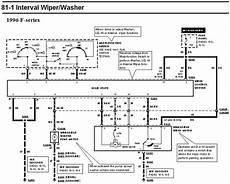 Wiper Motor Circuit Wiring Diagram Ford Truck