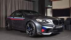 2017 bmw m2 m performance parts with m stripes