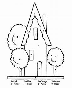 color by number coloring pages for kindergarten 18051 easy color by number for preschool and kindergarten