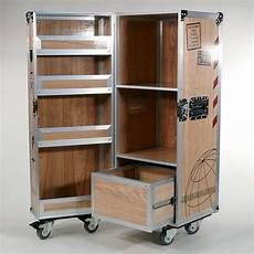 Schrank Kaufen - flugzeugtrolley als wein schrank multicase wood wine