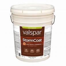 shop valspar storm coat exterior satin tintable white
