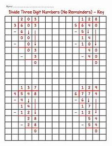 division worksheets on graph paper 6315 two and three digit division on graph paper by as an anchor
