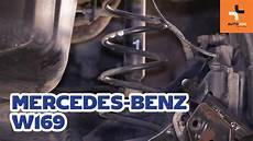 how to replace rear springs on mercedes a w169
