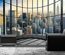 new york fototapete fototapete new york skyline penthouse b 252 ro loft xxl poster