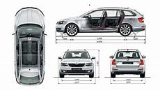 Skoda Superb Abmessungen - vw cars vw passat skoda octavia combi wagon blueprint
