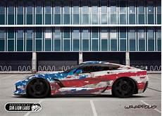c7 corvette american flag wrap design sir lion labs