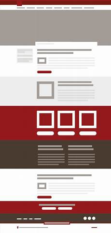 page types pattern library web style guide indiana university