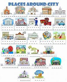 worksheets for places to live 15996 places in a town interactive worksheet