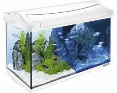 aquarium tetra aquaart led 60 l weiss ohne unterschrank