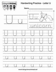letter u worksheets free letter u writing practice worksheet free kindergarten worksheet for