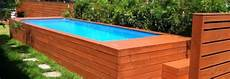 piscine hors sol cout prix d une piscine en bois co 251 t moyen tarif d installation