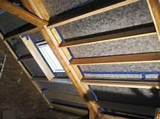 isolation toit des rants isol 233 s en ouate de cellulose